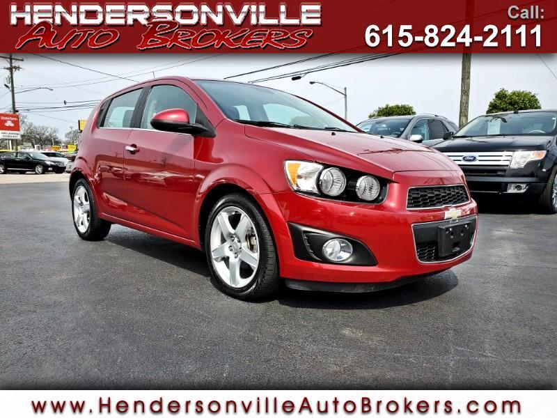 2012 Chevrolet Sonic 5dr HB LTZ 2LZ