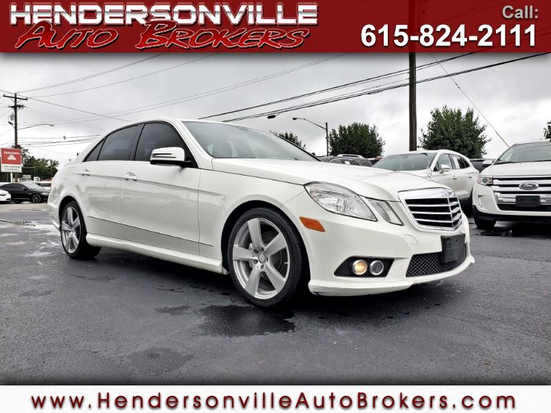 2010 Mercedes-Benz E-Class E350 Sport 4MATIC Sedan