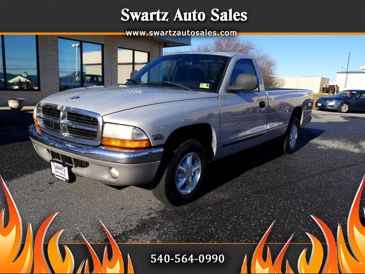 "1998 Dodge Dakota Reg Cab 112"" WB Sport"