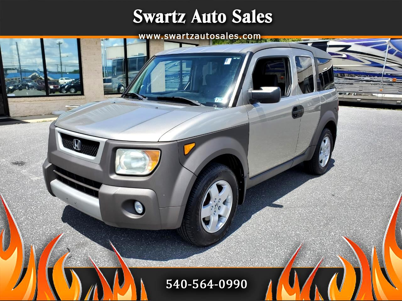 2003 Honda Element 2WD EX Manual