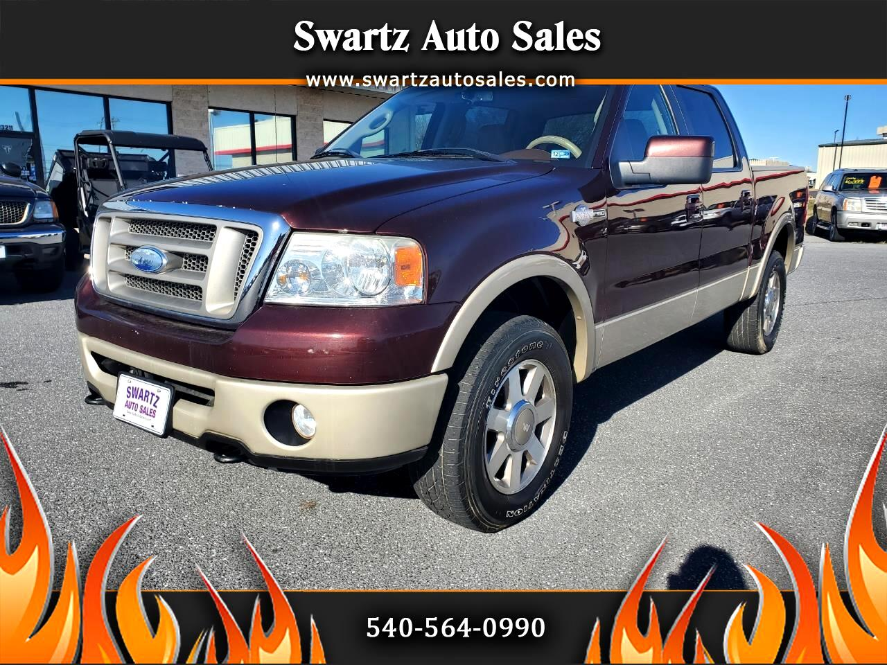"""Ford F-150 4WD SuperCrew 139"""" King Ranch 2008"""