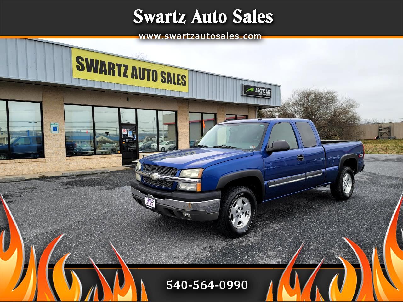"""Chevrolet Silverado 1500 4WD Crew Cab 143.5"""" LT w/1LT 2004"""