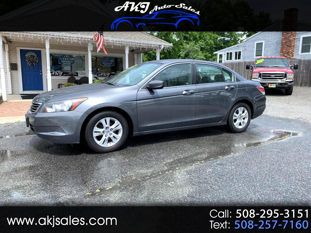 2008 Honda Accord LX-P Sedan AT