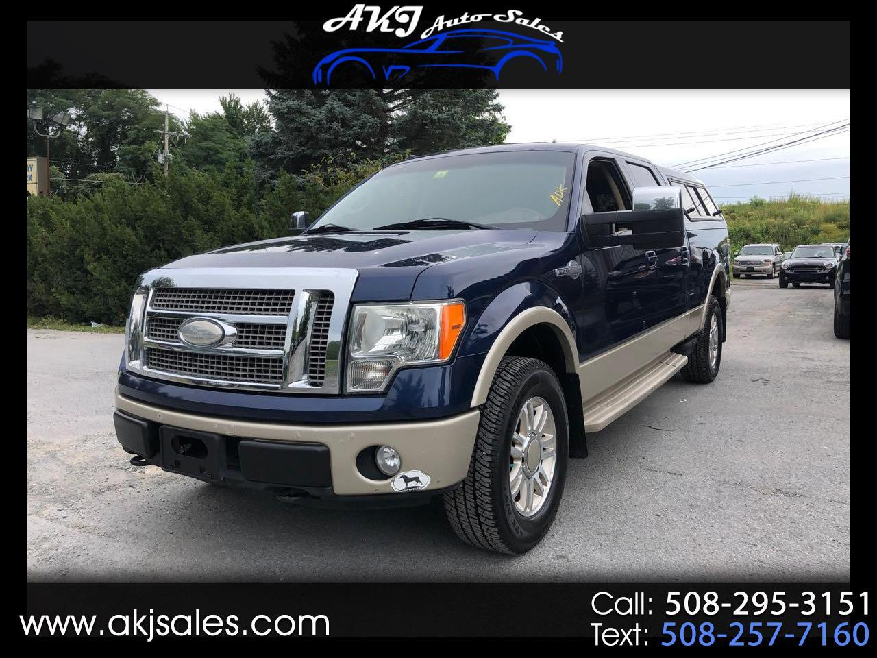 """Ford F-150 4WD SuperCrew 145"""" King Ranch 2009"""
