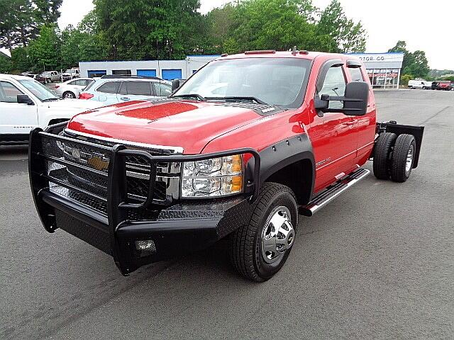 2013 Chevrolet Silverado 3500HD LTZ Ext. Cab Cab and Chassis 4WD