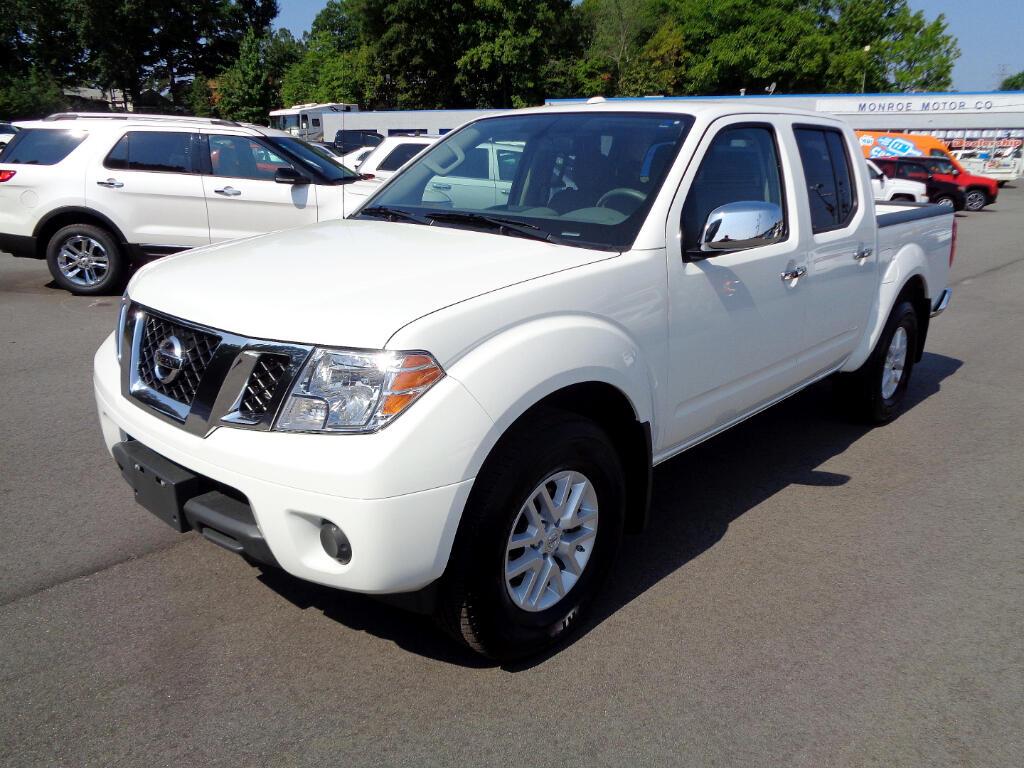 2018 Nissan Frontier Crew Cab 4x4 SV Auto