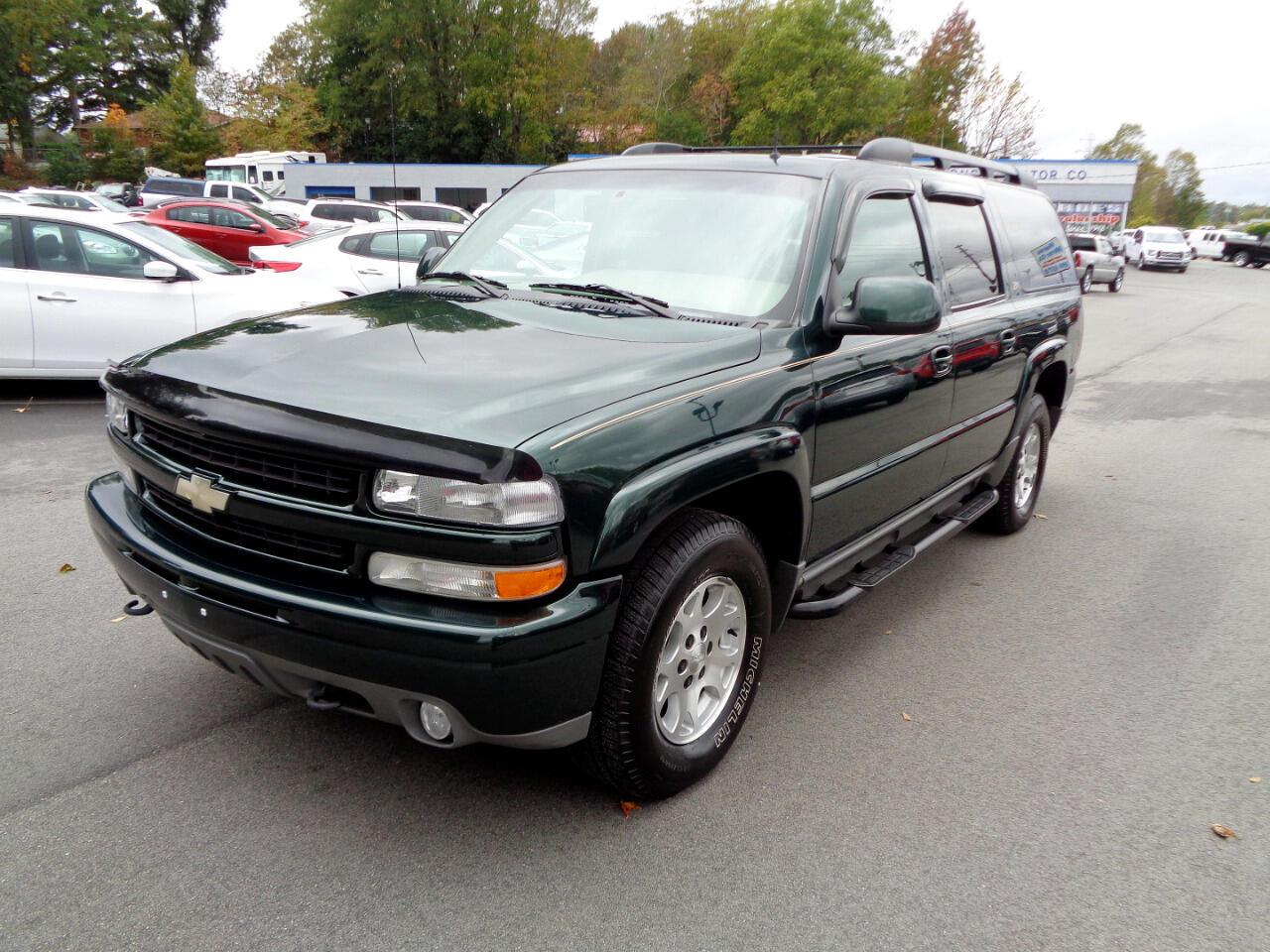 2002 Chevrolet Suburban 1500 Z-71 4WD