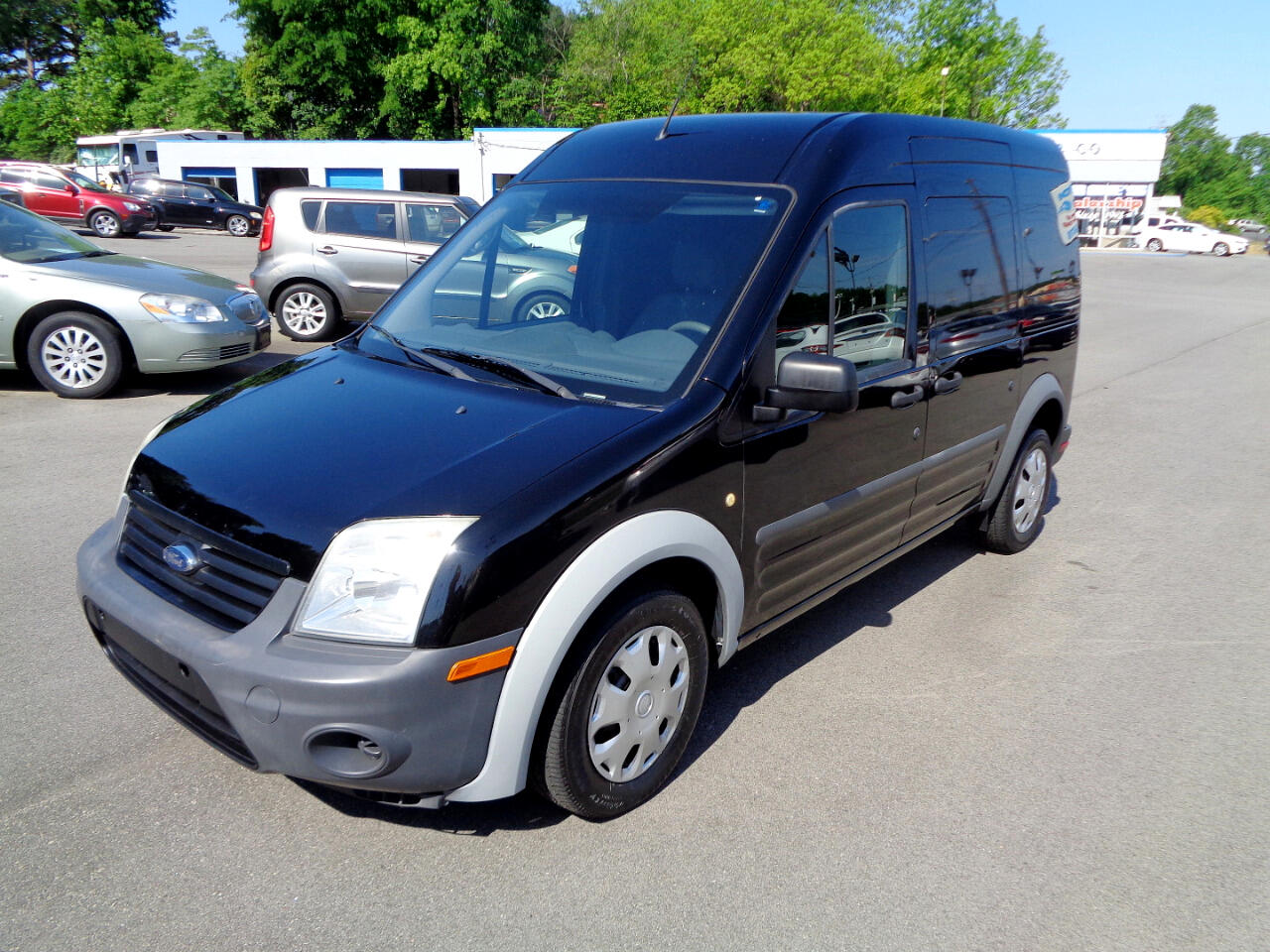 2013 Ford Transit Connect XL without Rear Door Glass