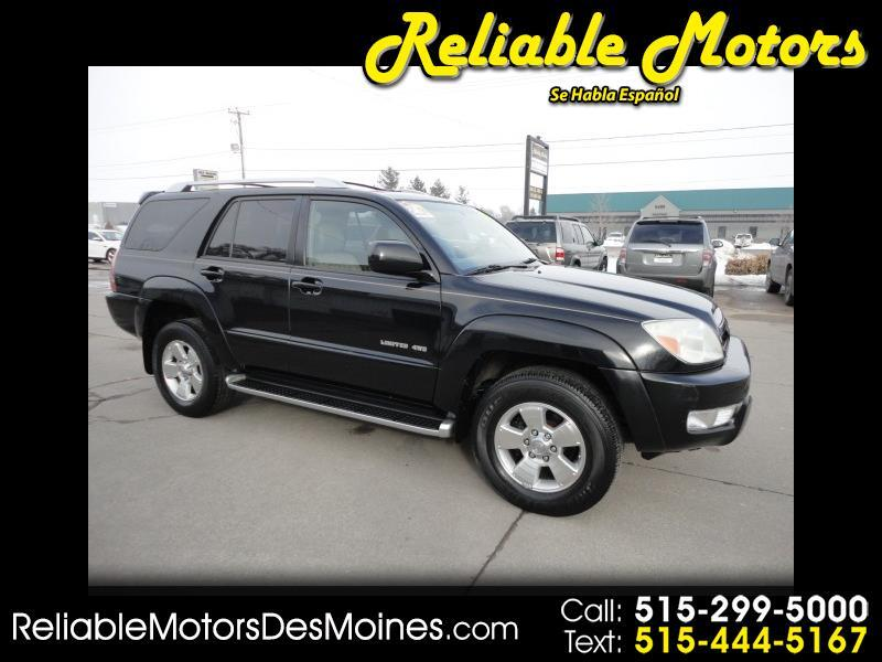 2004 Toyota 4Runner Limited AWD