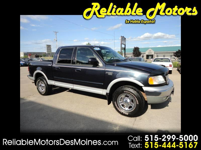 2001 Ford F-150 Lariat SuperCrew 4WD