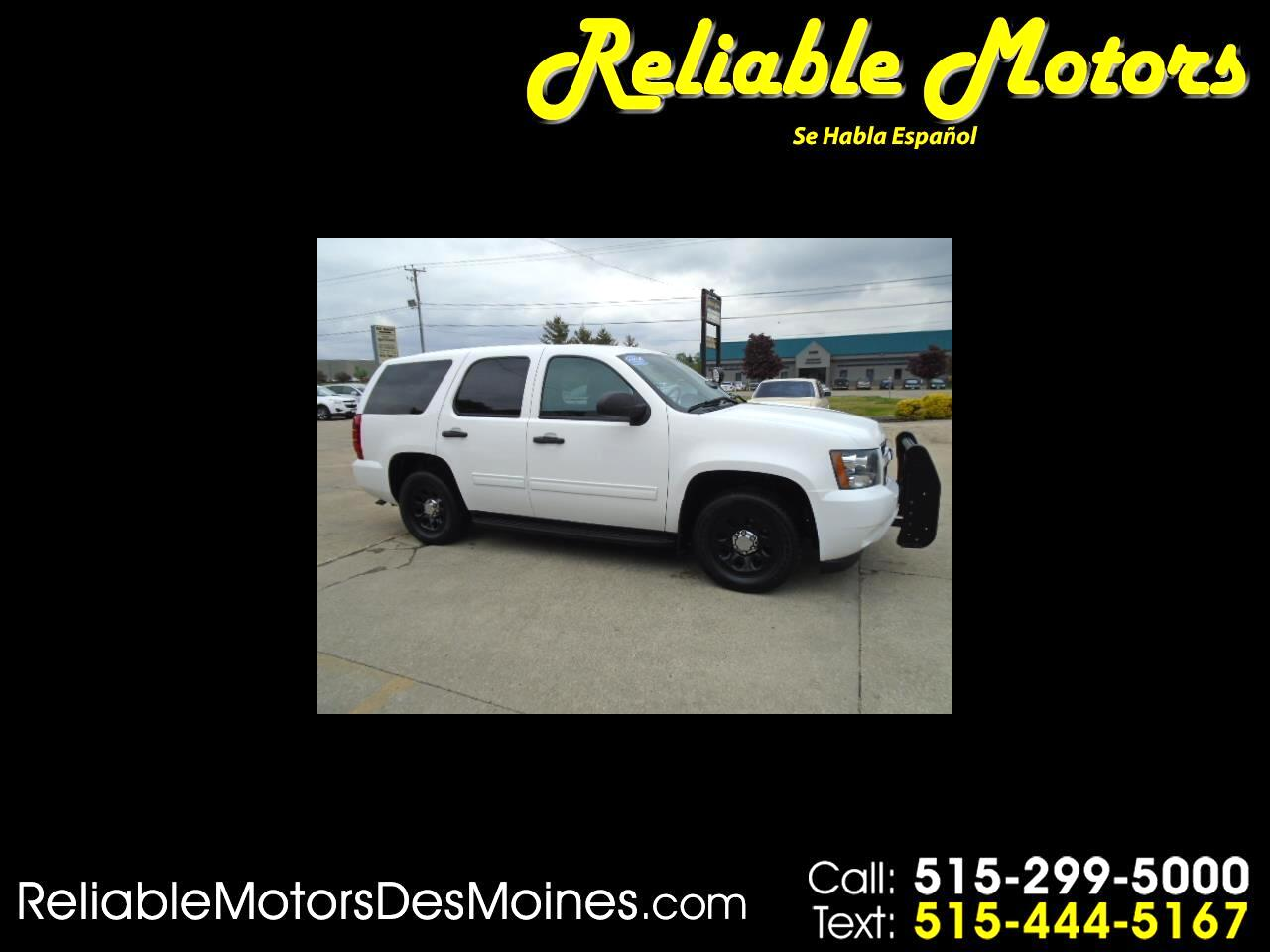 Chevrolet Tahoe 2WD 4dr 1500 Commercial 2013