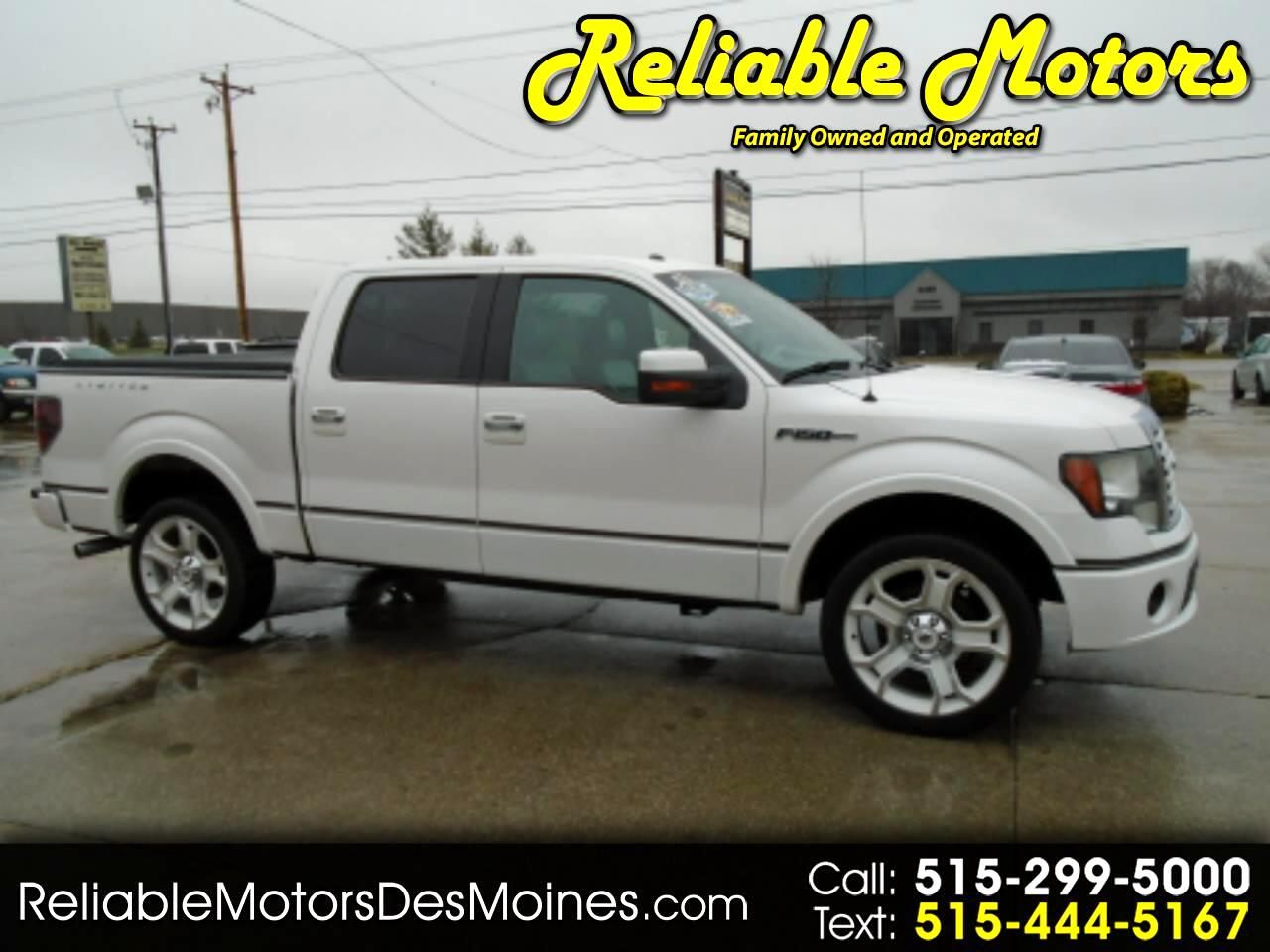 "Ford F-150 AWD SuperCrew 145"" Lariat Limited 2011"