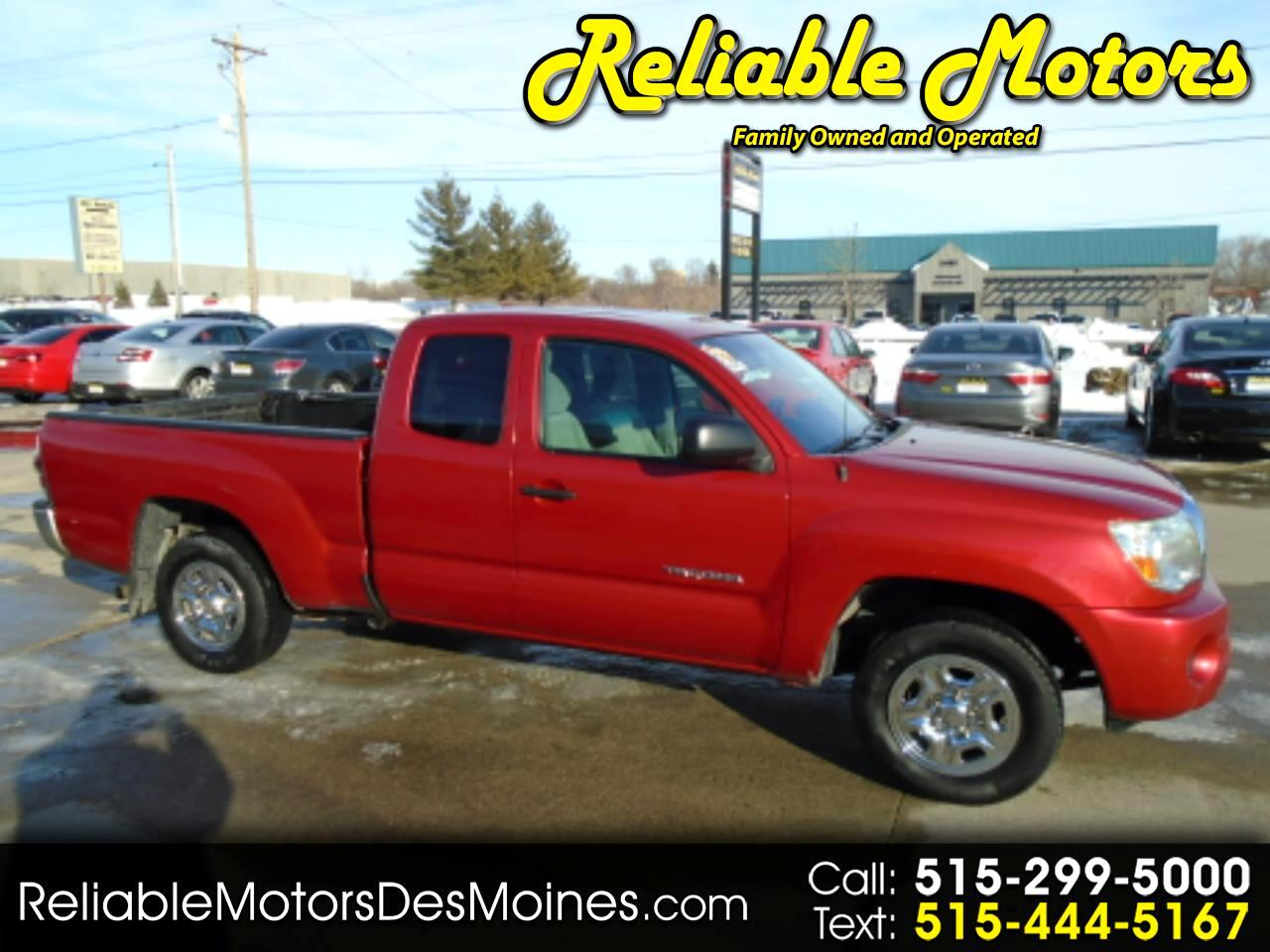 Toyota Tacoma 2WD Access I4 MT (Natl) 2010