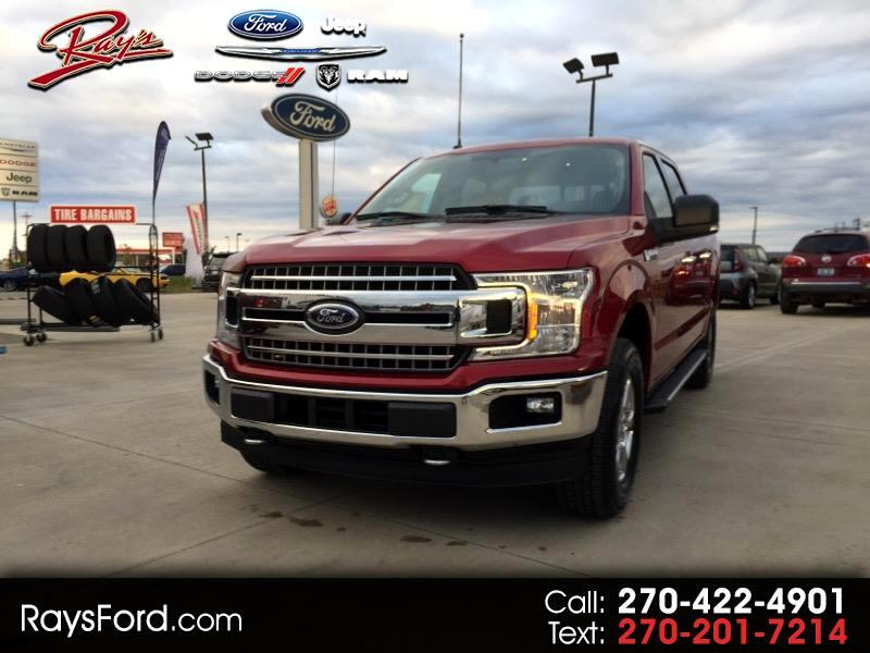 "2018 Ford F-150 SuperCrew Crew Cab 139"" XLT 4WD"