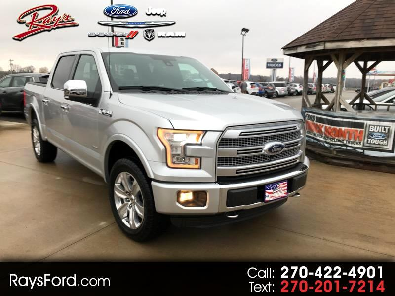 2016 Ford F-150 Platinum 4WD SuperCrew 5.5' Box