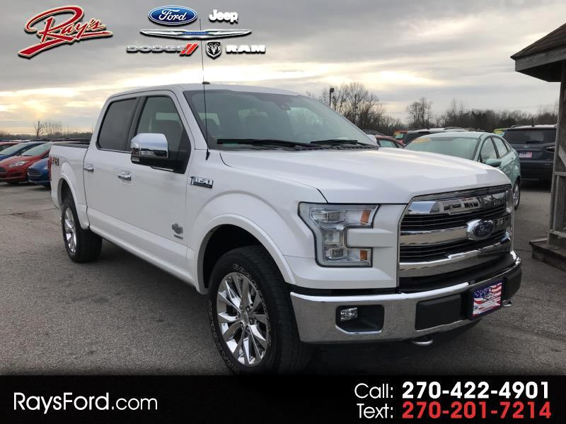 "2015 Ford F-150 SuperCrew 139"" King Ranch 4WD"