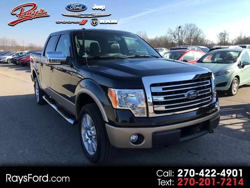 2013 Ford F-150 Lariat 4WD SuperCrew 5.5' Box