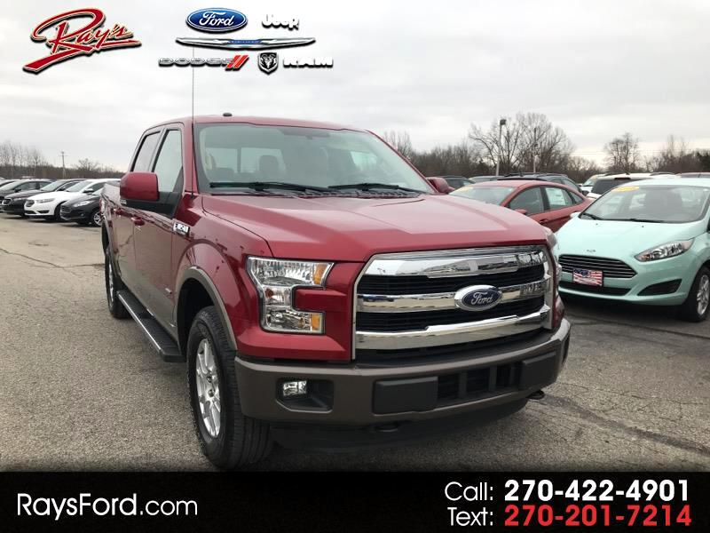 "2015 Ford F-150 SuperCrew 139"" Lariat"