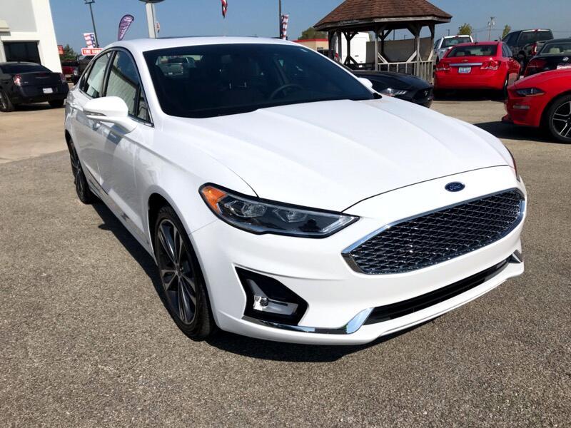 Ford Fusion 4dr Sdn Titanium FWD 2019