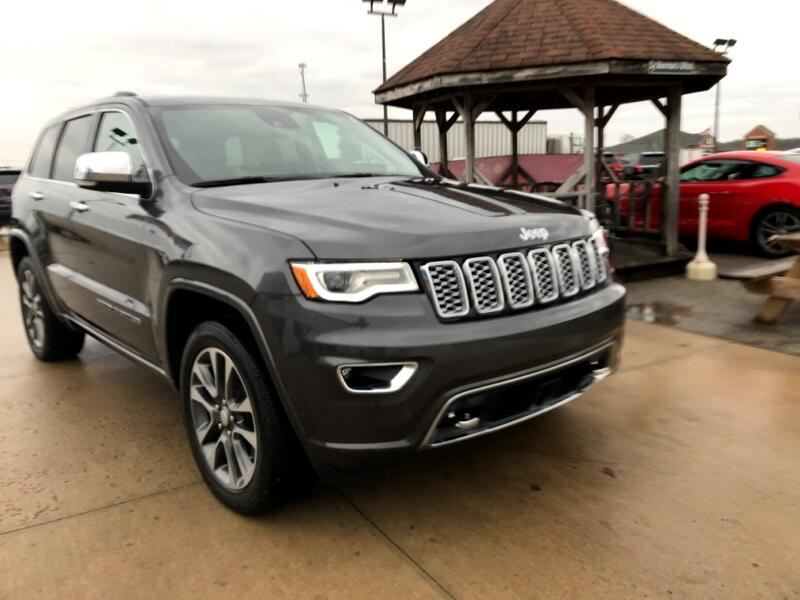 Jeep Grand Cherokee 4dr Overland 4WD 2018