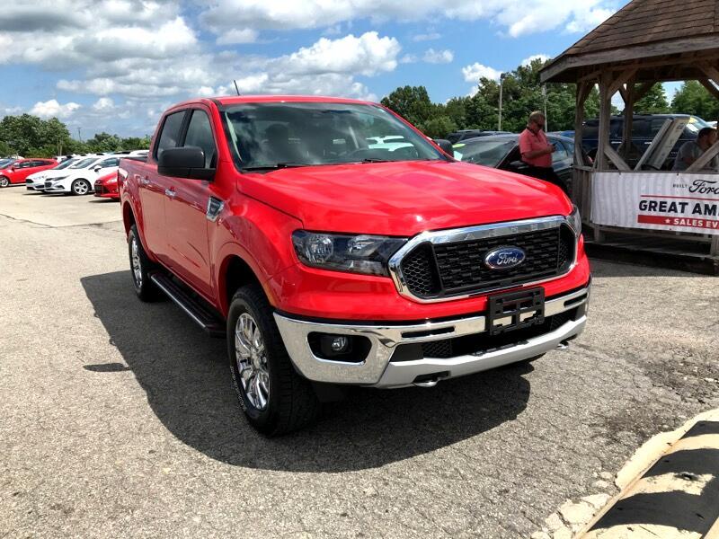 Ford Ranger XLT 4WD SuperCrew 5' Box 2020
