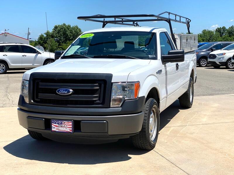 "Ford F-150 2WD Reg Cab 126"" STX 2014"