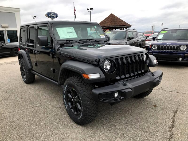 Jeep Wrangler Unlimited Willys Sport 4x4 2021