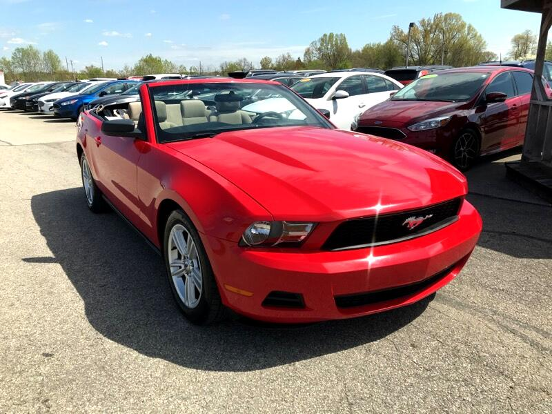 Ford Mustang 2dr Conv V6 2010