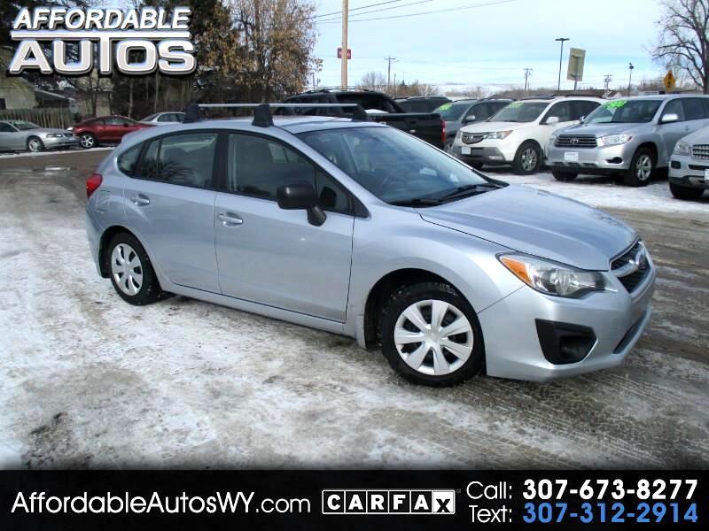 2012 Subaru Impreza Base 5-Door
