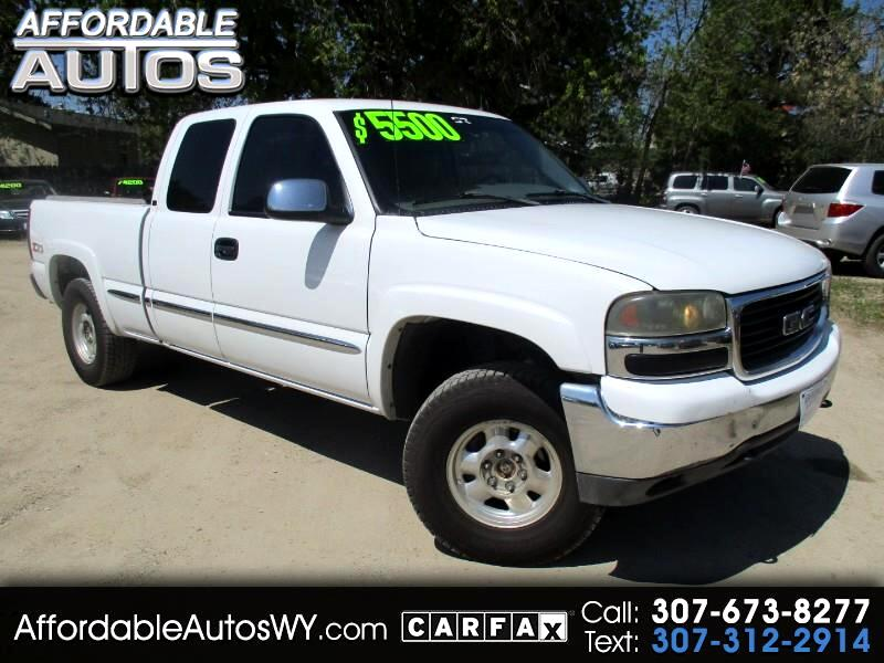2002 GMC Sierra 1500 SLT Ext. Cab Short Bed 4WD