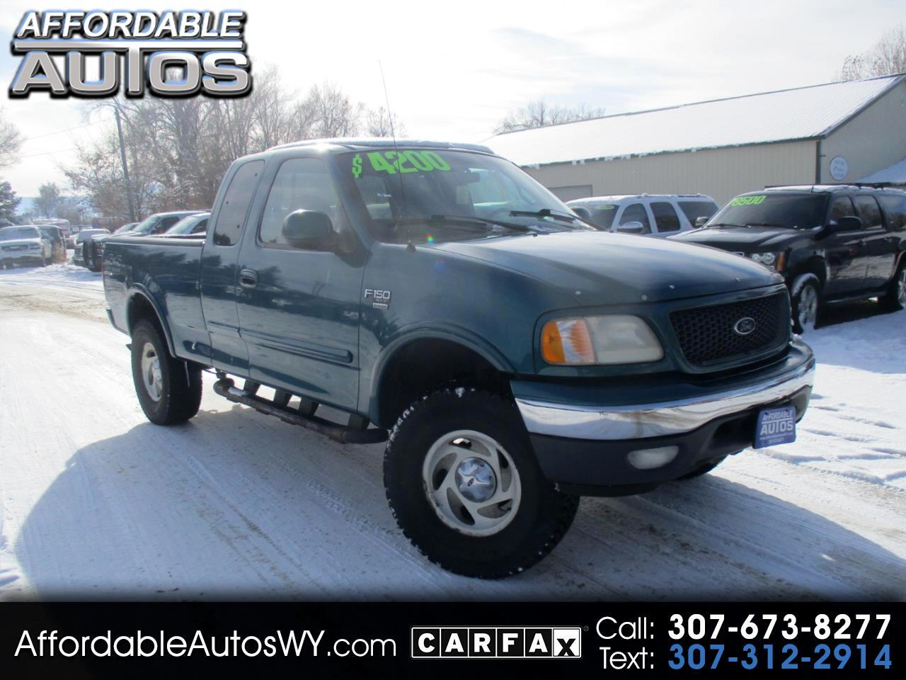 "2000 Ford F-150 Supercab 139"" 4WD XL"