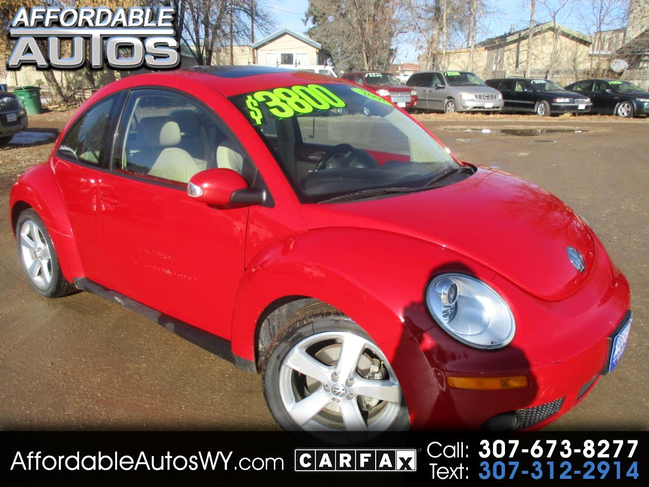 Volkswagen New Beetle Coupe 2dr Manual PZEV 2007