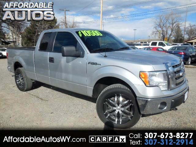 "2011 Ford F-150 4WD SuperCab 145"" FX4"