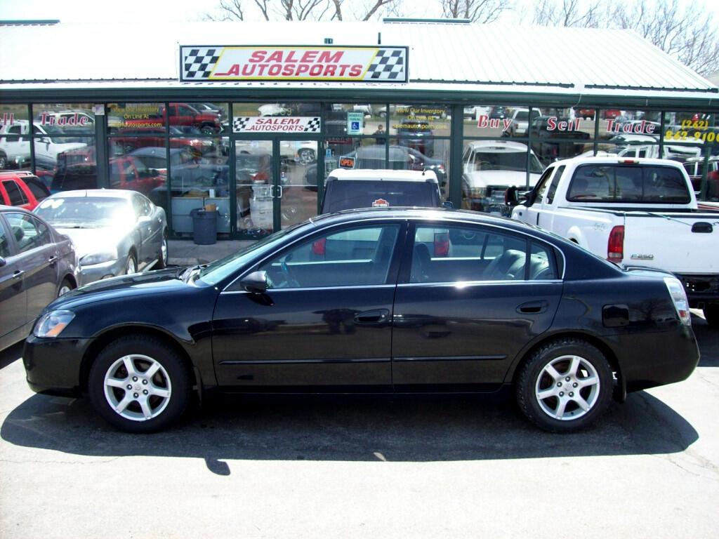 2006 Nissan Altima 4dr Sdn I4 2.5 SL