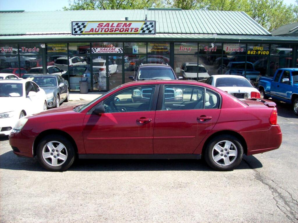 2005 Chevrolet Malibu 4dr Sdn LS