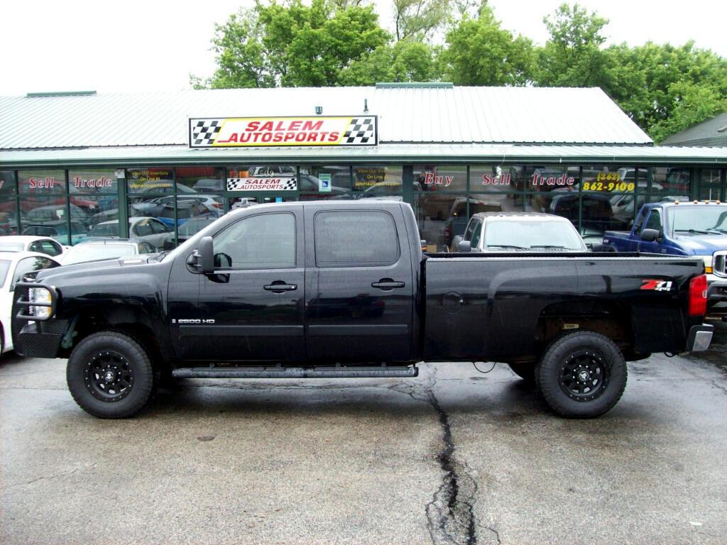 """2007 Chevrolet Silverado 2500HD 4WD Crew Cab 167"""" LTZ"""