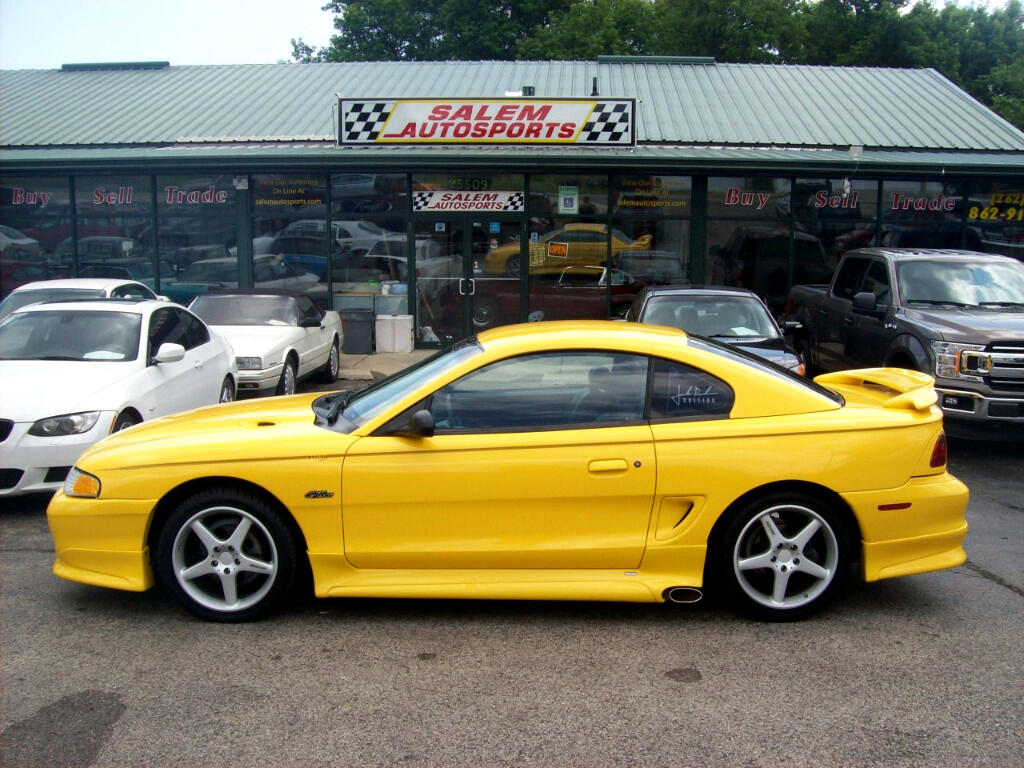 1998 Ford Mustang 2dr Cpe GT