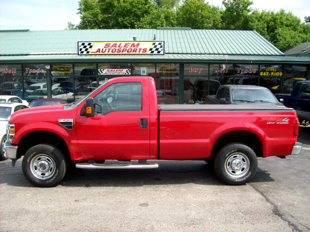2010 Ford Super Duty F-250 SRW 4WD Reg Cab 137