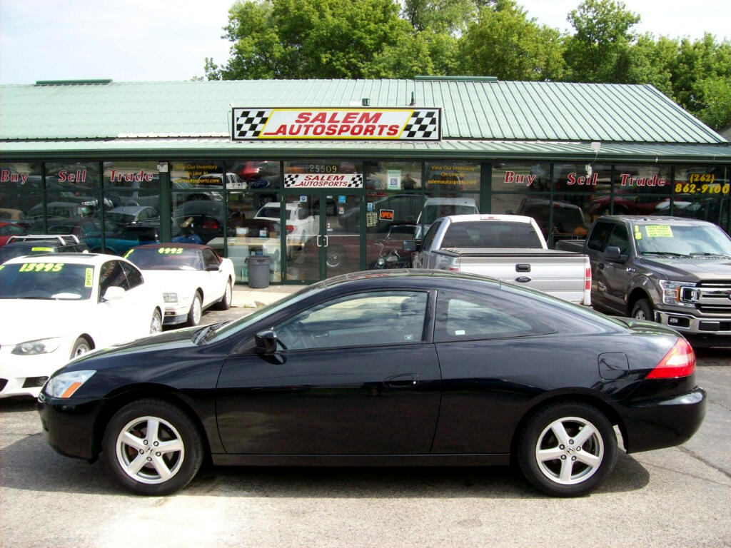 2003 Honda Accord Cpe EX Manual