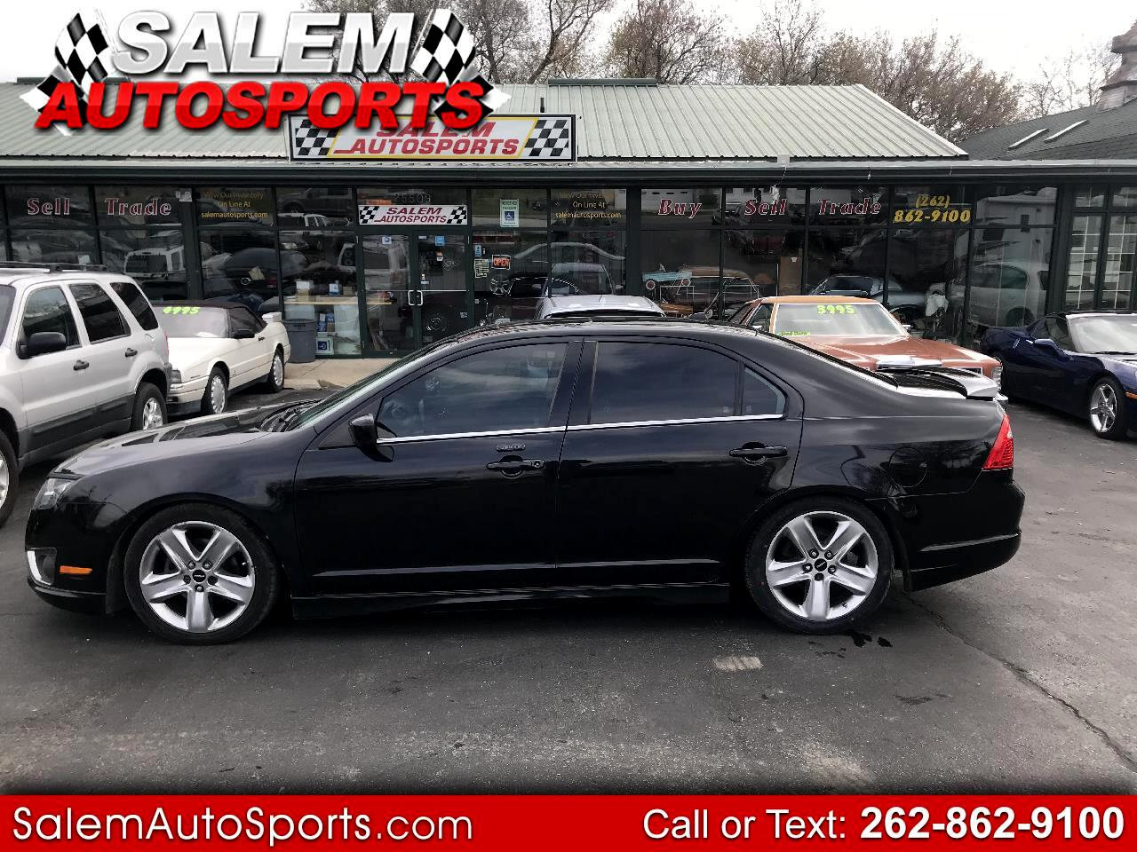 2011 Ford Fusion 4dr Sdn SPORT FWD