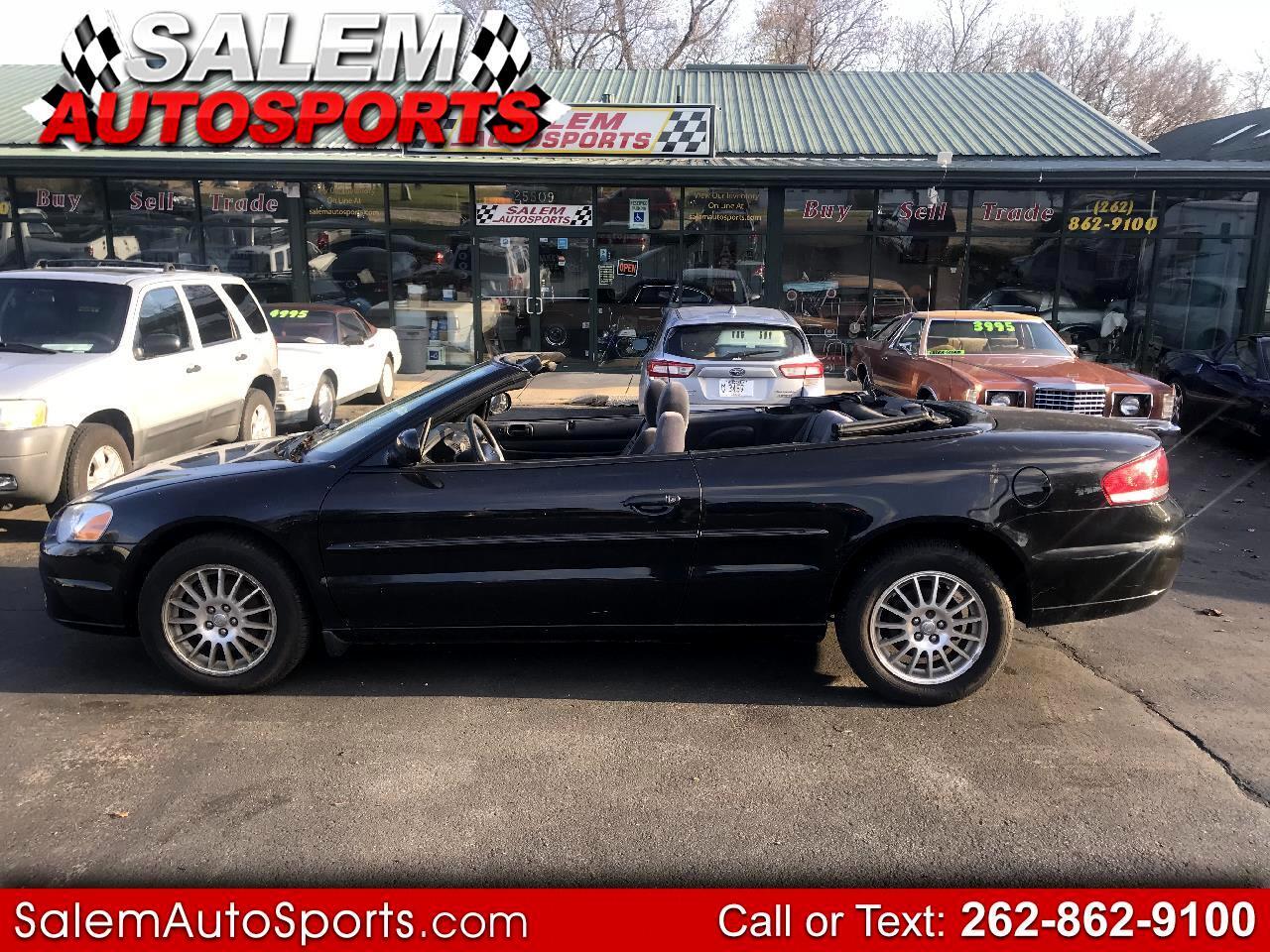 2006 Chrysler Sebring Conv 2dr Touring