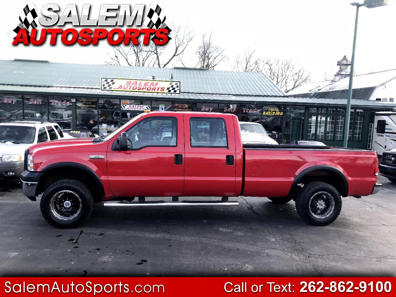 "2006 Ford Super Duty F-250 Crew Cab 156"" XL 4WD"