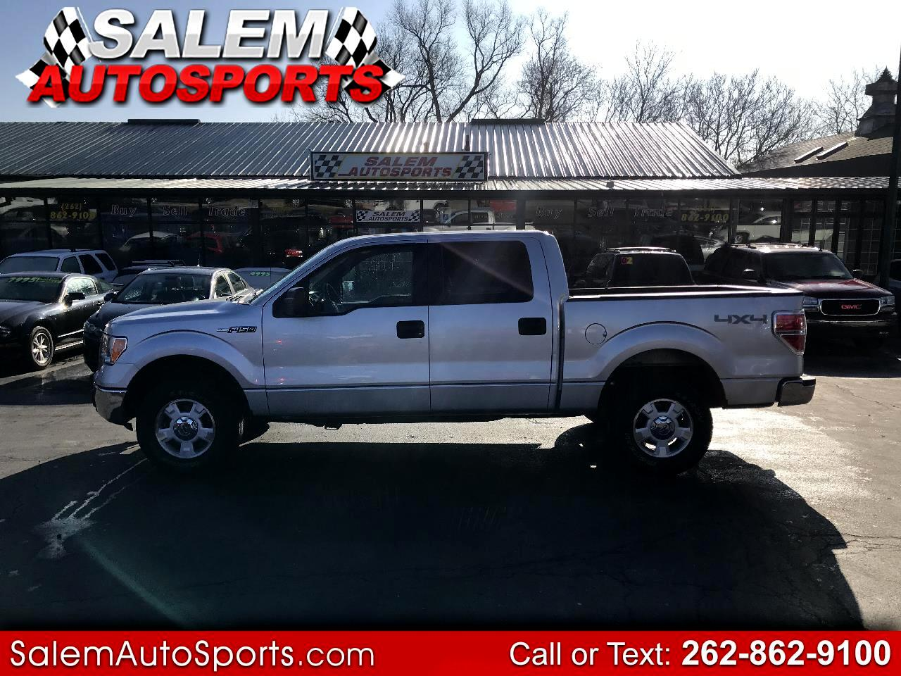 "2011 Ford F-150 4WD SuperCrew 145"" XLT"