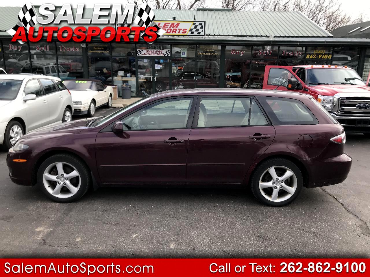 2006 Mazda MAZDA6 5dr Wgn s Manual