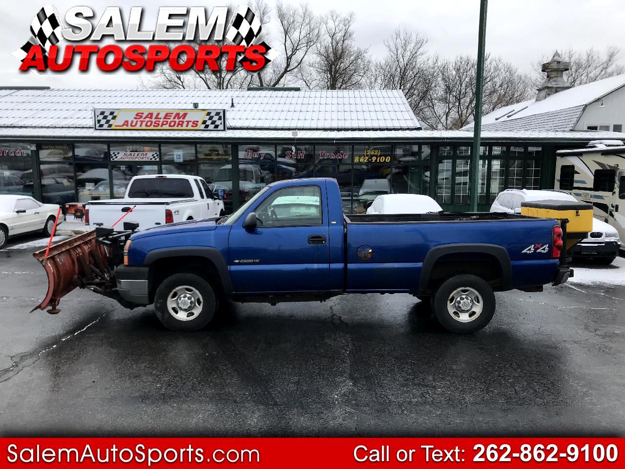 """2003 Chevrolet Silverado 2500HD Reg Cab 133"""" WB 4WD Work Truck"""