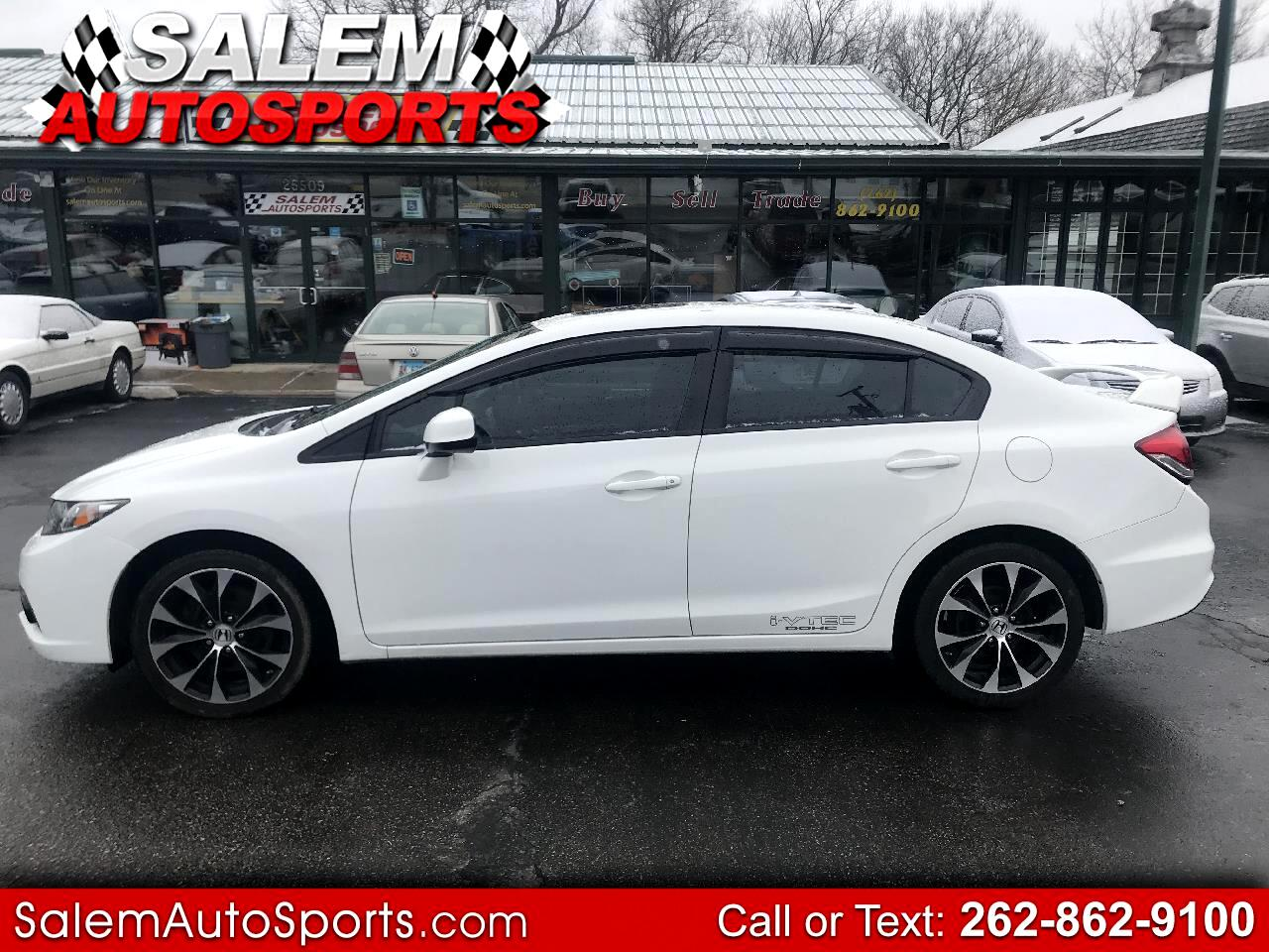 2013 Honda Civic Sdn 4dr Man Si