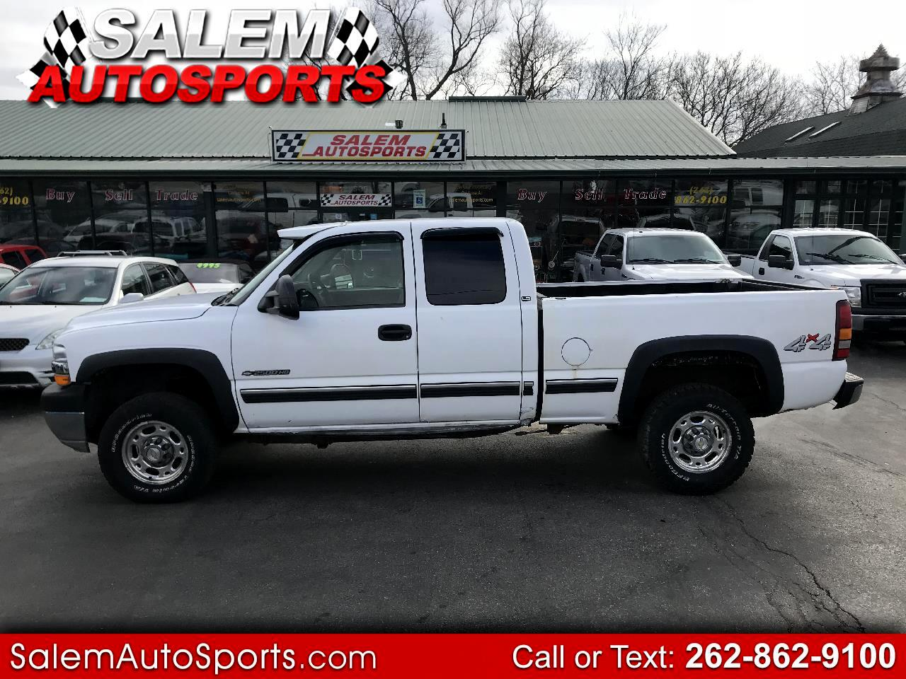 2002 Chevrolet Silverado 2500HD Ext Cab 143.5