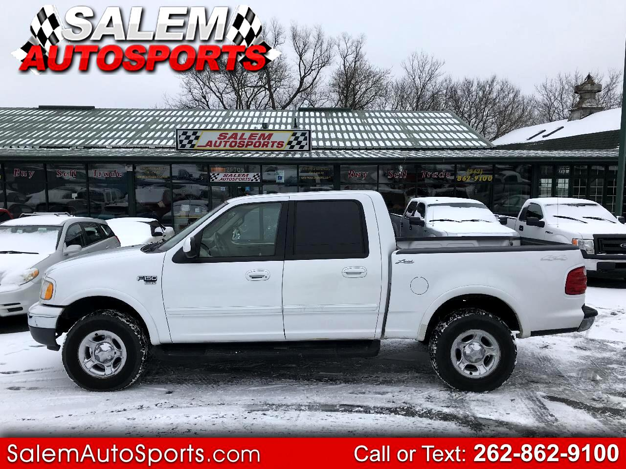 """2001 Ford F-150 SuperCrew Crew Cab 139"""" King Ranch 4WD"""