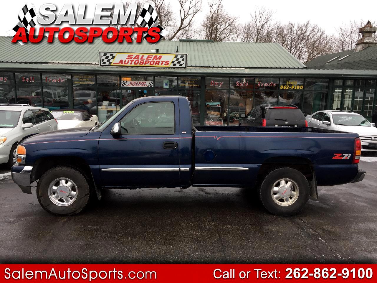 1999 GMC New Sierra 1500 Reg Cab 133.0