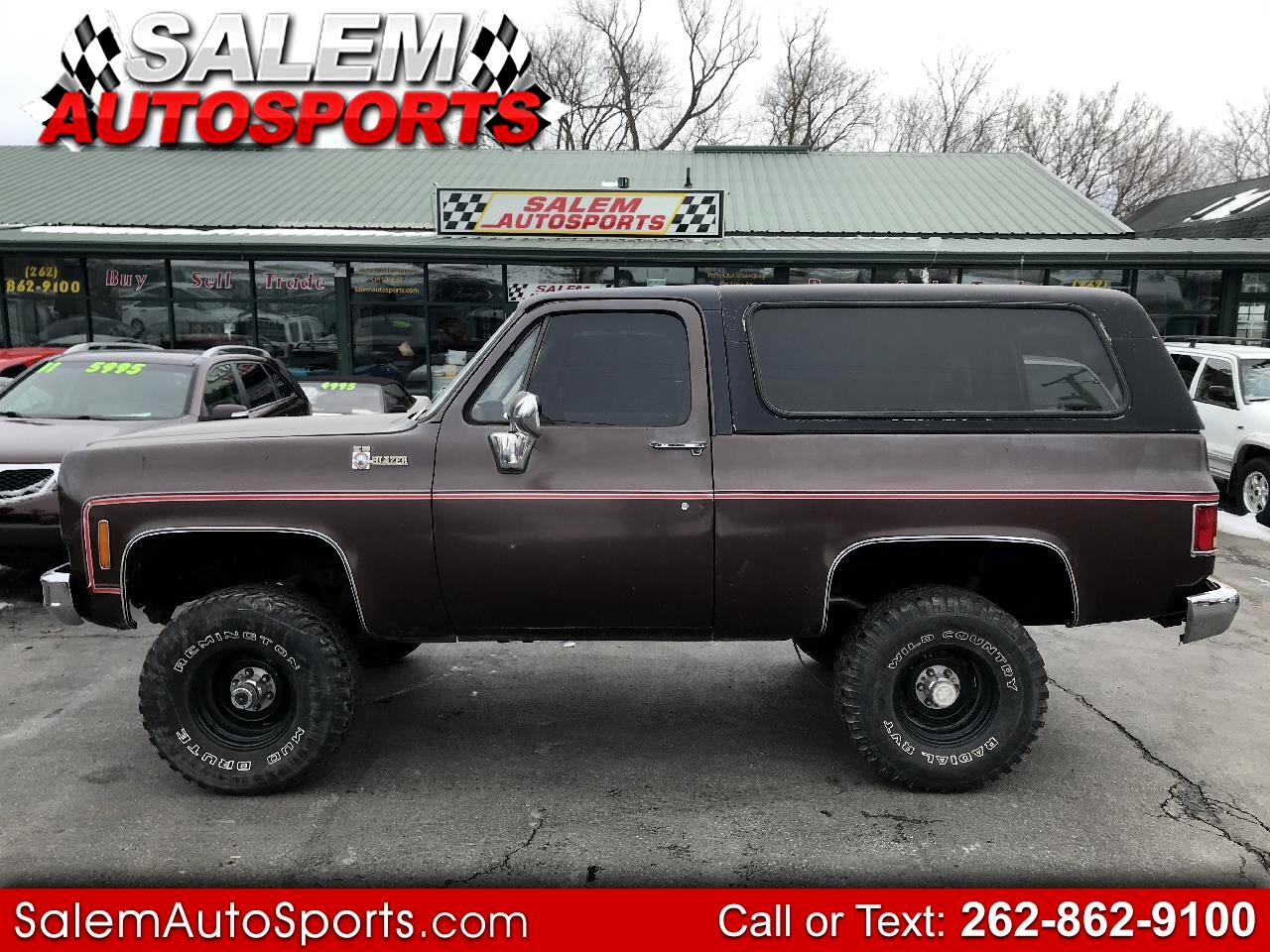 1978 Chevrolet C/K 10 Blazer 4WD
